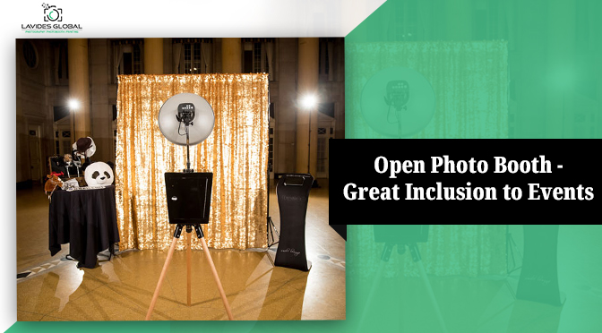 Why Open Photo Booth Hire is always a Great Inclusion to Events?