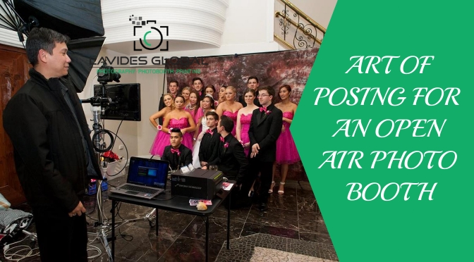The Art of Posing for an Open Air Photo Booth