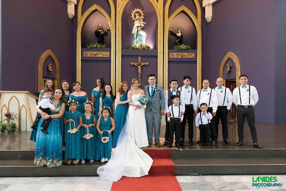 Wedding Photos with Buddies