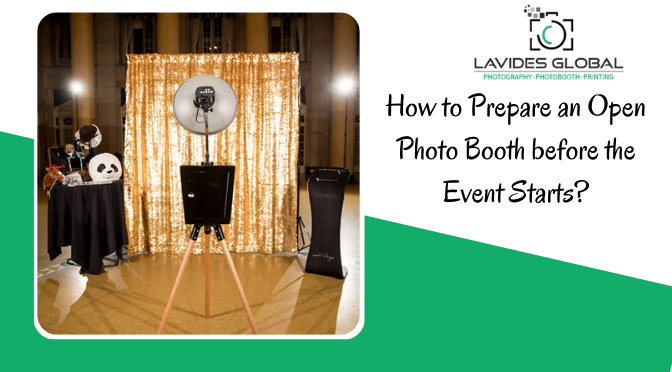 How to Prepare an Open Photo Booth before the Event Starts?